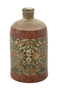Decorative Painted Bottle