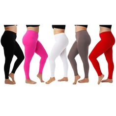 5 Pack Plus Size Slimming Leggings: Black ($30) ❤ liked on Polyvore featuring plus size fashion, plus size clothing, plus size pants, plus size leggings, black, plus size, spandex leggings, black lycra leggings, plus size womens leggings and black pants