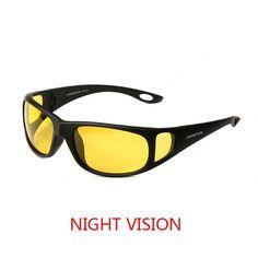 0c95ec99c8 Night Vision Glasses Goggles Polarized Sunglasses New Designer Yellow Night  Driving