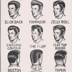 Get thee a flat top boogie, why don'tcha. | 21 Charts That Will Solve Every Guy's Grooming Problems