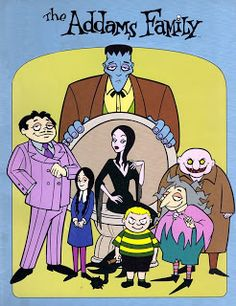 Hanna Barbera World: Addams Family Addams Family Cartoon, Die Addams Family, Classic Cartoon Characters, Classic Cartoons, Cartoon Kunst, Cartoon Tv, 90s Cartoon Shows, Peanuts Gang, Animation