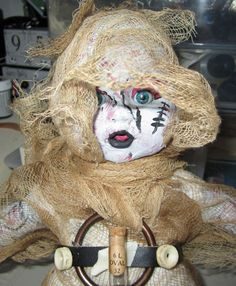 RePuRpOsEd doLL ArT ApOcoLyPsE GhOsT BaBy by SauvageRavenCreation, $20.00