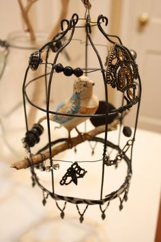 In My Blue Room: August 2011 - bird cage