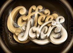 Marcelo Schultz. Increibles diseños con tipografías.