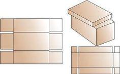 Resultado de imagen para como hacer una caja de carton