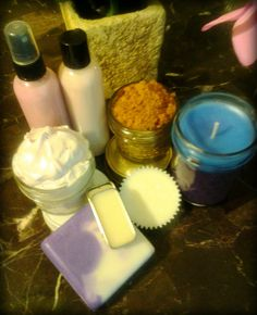 Total Body Package  Lotion Bar Shea Butter by iCiCandlesSkinCare, $30.00