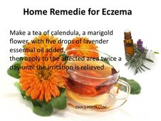 Eczema, natural help: Cleansing the liver is very important in treating eczema. That is why herbs are a very successful natural treatment. They can effectively treat various skin conditions and detoxify the body. Liver Cleanse Tea will help by allowing the liver to detoxify the system. Read more and order at: http://www.emasherbs.com/REMEDIES/liver_cleanse1.htm