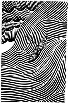 Stanley Donwood. Inspiration for linocuts