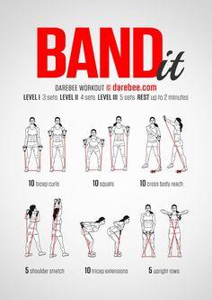 Band It Workout                                                       …