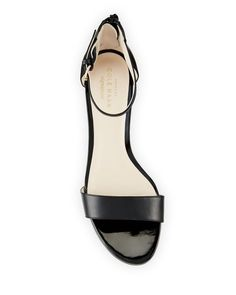 Cole Haan - Adderly Grand Leather Low-Wedge Sandal Low Wedge Sandals, Low Wedges, Tap Shoes, Dance Shoes, Celebrity Shoes, Shoe Sites, Cole Haan Shoes, Flats, The Originals