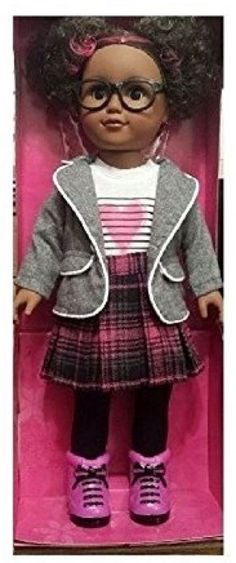 My Life Doll As School Girl African American 18 Inch Outfit Clothing Brunette #myLifeBrandProducts