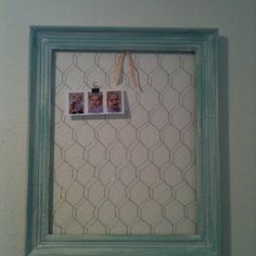 Alternative to bulletin boards: 1)Old picture frame painted with fresh color. 2)Staple chicken wire to the back.  3)Hang on wall. 4) Use close-pins or spring-loaded paper clips to attach items to display on it.