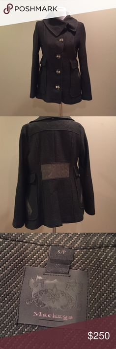 Mackage Hip length wool jacket Excellent condition- rarely worn Mackage Jackets & Coats
