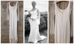Vintage Caroline Castigliano on sale @gillianmillion #london Price:£1195 #carolinecastigliano #wedding #weddingdress #preloved #bride #bridetobe #richmond #teddington #surrey