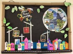 Build a Better World Display at the Mebane Public Library for Summer Reading Program 2017