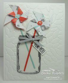 Inking Idaho: Jar of Love - Pinwheels