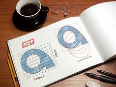 Criação própria de tipografia.