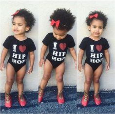 Toddler-Baby-Girl-Kid-One-Piece-Rock-Star-Beach-Swimsuit-Bikini-Tankini-Swimwear