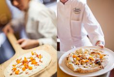Wood Burning Pizza  I Ristorante Caterina de' Medici I The Culinary Institute of America