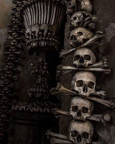 From a visit to Kutna Hora in the Czech Republic... #toxicvision #travel #bonechurch #kutnahora #mementomori #macabre #deathworship