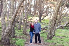 Baker Beach San Francisco Morning Engagement Session   Chico California Wedding Photography and Videography by Chico Photographer Videographer Couple TréCreative