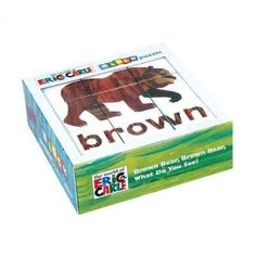 Eric Carle Bear, Bear, What Do You See? Block Puzzle