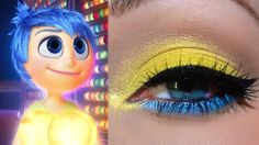 PIXAR'S Inside Out- Joy Inspired Makeup