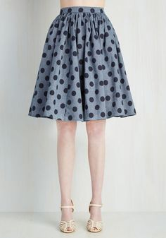 Saturday Sojourn Skirt, @ModCloth