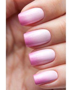 Cute faded nails