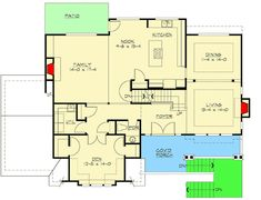 Open Floor Plan with Garage Options - 23064JD | Architectural Designs - House Plans