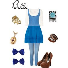 Casual Belle from Disney's Beauty and the Beast.