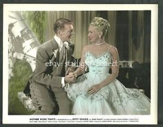 Betty Grable 1940s Original Color Photo Mother Wore Tights DAN Dailey | eBay