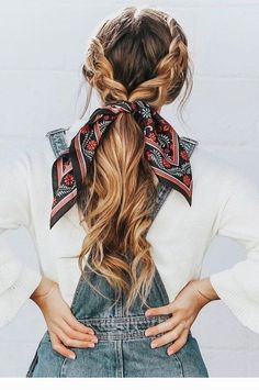 Easy Hairstyles 21 pretty ways to wear a scarf in your hair, easy hairstyle with scarf , hairst. 21 pretty ways to wear a scarf in your hair, easy hairstyle with scarf , hairstyles for really hot weather Scarf Hairstyles, Cute Hairstyles For Medium Hair, Hair With Bandana, Braided Hairstyles For Long Hair, Cute Fall Hairstyles, Hairstyles For Women, Bandana Hairstyles For Long Hair, Lazy Day Hairstyles, Hairstyle Ideas