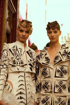 Iris Van Herpen Couture SS13, fashion detail