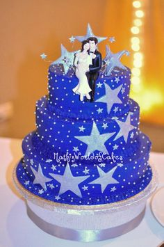 Mathiz: Wedding cake: star-ry nite (AR pin)