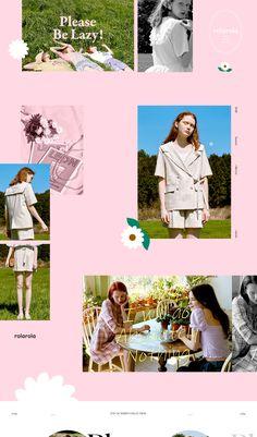 W Concept Web Layout, Layout Design, Line Design, Fashion Web Design, Graphic Portfolio, Clothing Photography, Cozy Fashion, Photo Layouts, Artwork Design