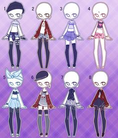Outfit adopts: Mashup CLOSED by Lunadopt on DeviantArt
