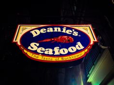 Deanie's Seafood--if you can get past the fact that this place has an odd decor, it's quite good! Interesting note: they serve whole, boiled potatoes like most restaurants serve bread at the start of a meal.