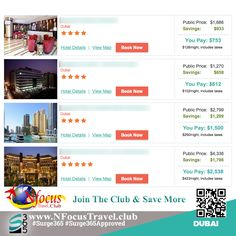 Join he club & experience the beauty of #Dubai #NFocusTravelClub #Surge365