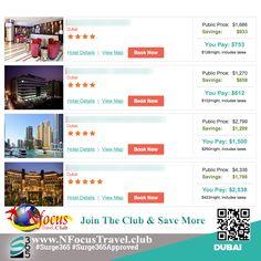 Join he club & experience the beauty of #Dubai #NFocusTravelClub #Surge365