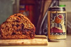 Chocolate Coconut Beer Bread is made using Maui Brewing Company's Coconut Porter…