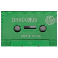Draconus Tape Only for Atari 8-Bit Computers from Zeppelin Games