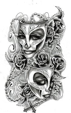 #mask #tattoos