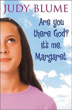 """""""Are you there God? It's me, Margaret."""" by Judy Blume - I read ALL of her books as a kid, and I remember this book being one of the topics of discussion at my birthday slumber party! O Donnell, James Dean, Oprah, Books To Read, My Books, Books For Teens, Teen Books, Great Books, Book Lists"""