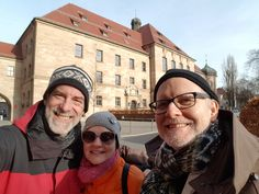 Nuremberg Tours in English with Happy Tour Customers at Justice Palace