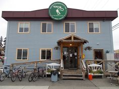 First night in Alaska will be spent at this hostel in Alaska. :)