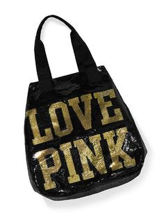 i want this bag like none other! sequins + gold and black! gah! potential present to me if i finish this semester good :)