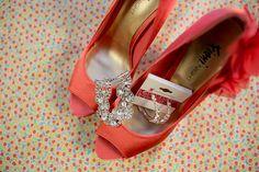Beautiful high heels and earings!