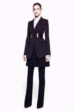 Alexander McQueen Pre-Fall 2012 Collection. Office chic?