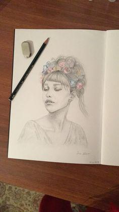 Grace Vanderwaal drawing